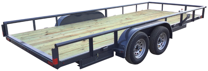 2018 Lamar Trailers Commercial Utility Trailer (UC)