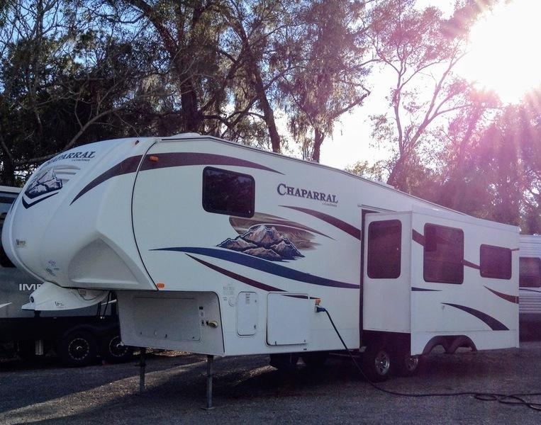 2010 Forest River Chaparral 278 RLDS