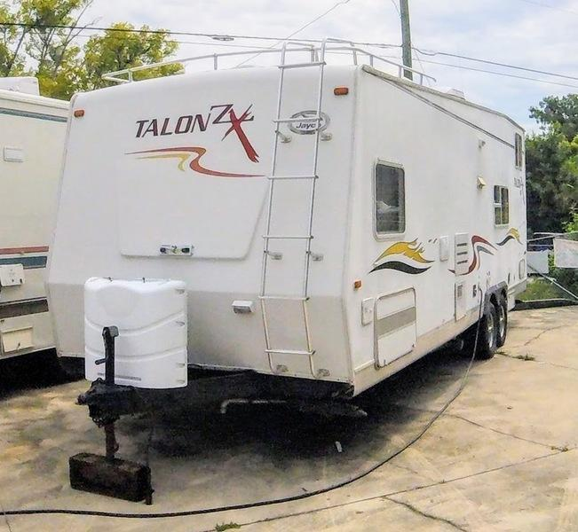 2004 Jayco Talon ZX Series 28 A Toy Hauler
