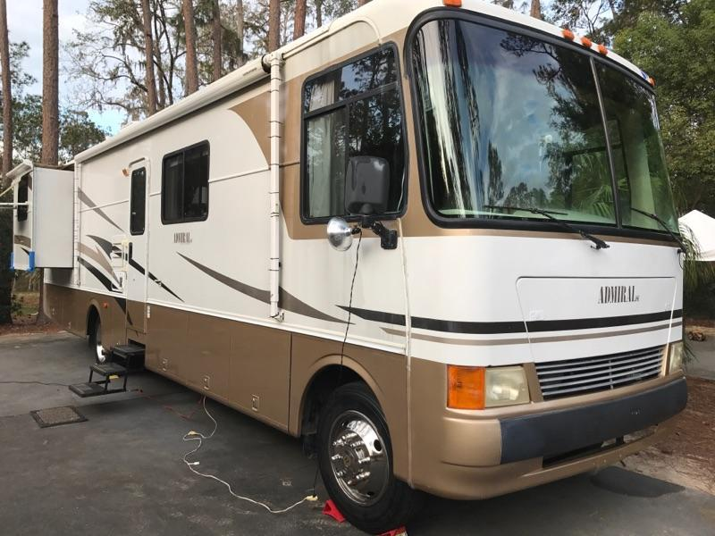 2003 Holiday Rambler Admiral SE Series 36PED Workhorse Class A RV
