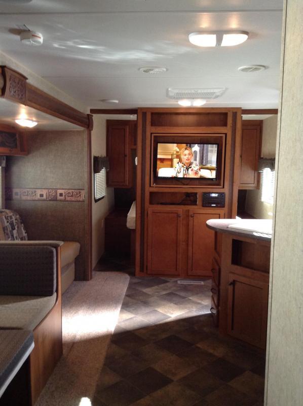 2014 !!SALE PENDING!! Heartland Recreational Vehicles Trail Runner 30USBH Travel Trailer BUNKHOUSE