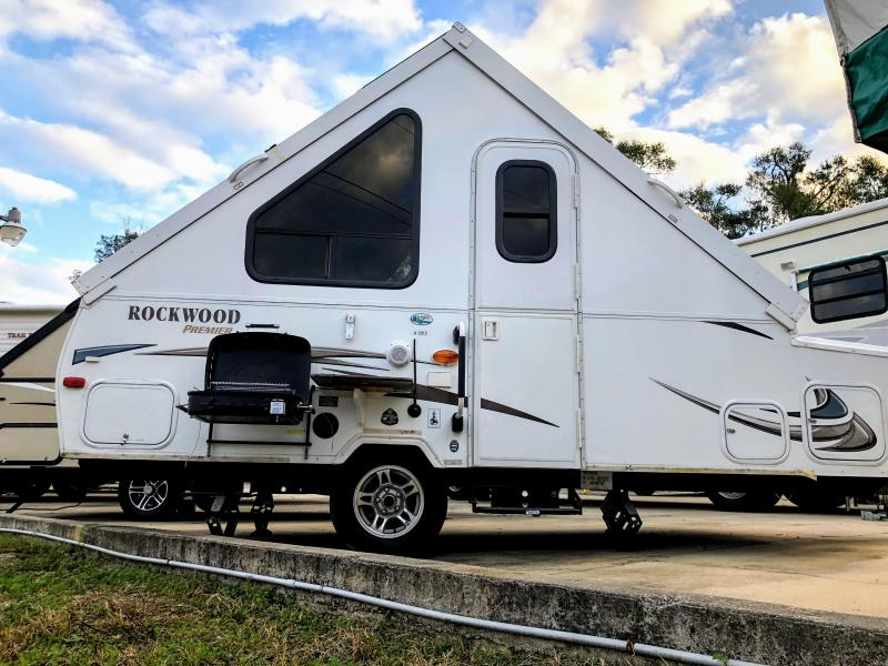 2014 Forest River Inc. Rockwood Premier Series 128A S Popup A-LINER Camper