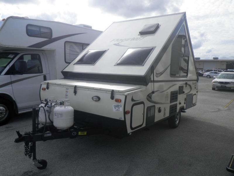 2016 Forest River Inc. Flagstaff Classic Series 12RBST Hardwall Camper