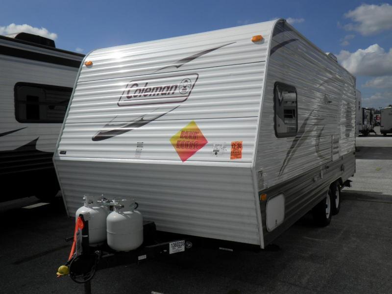 2012 Coleman by Dutchmen 198DB Travel Trailer BUNK HOUSE
