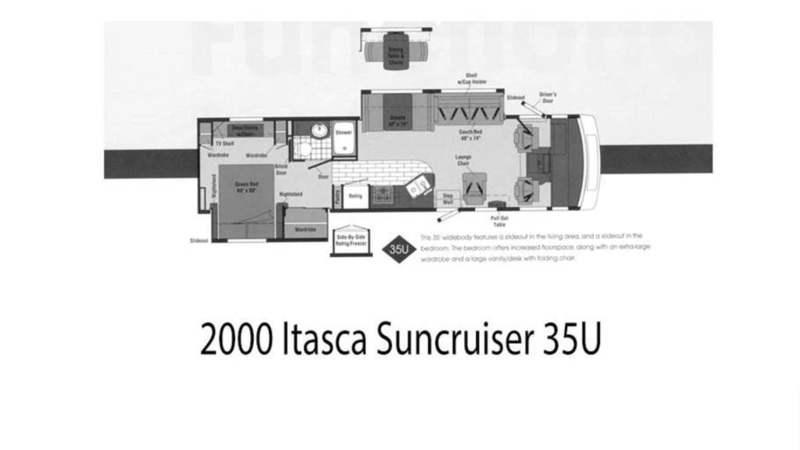 2000 Itasca Suncruiser 35U