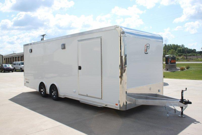 2018 inTech Trailers BTA8524TA3 Car / Racing Trailer With Full Size Escape Door