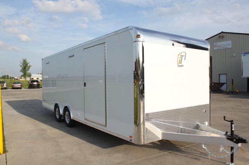 2018 inTech 24' Lite Series Equipped All Alum Tag Trailer
