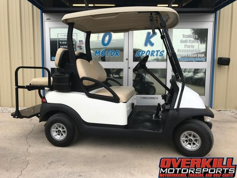 2014 Club Car Precedent Electric Golf Cart 4-Passenger White
