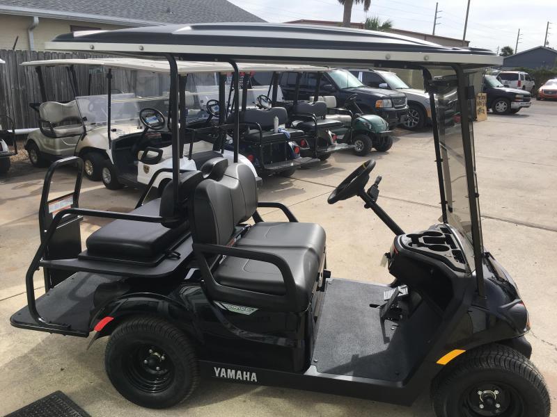 2018 yamaha drive 2 quietech efi gas golf cart 4 passenger for Yamaha golf cart dealers in florida