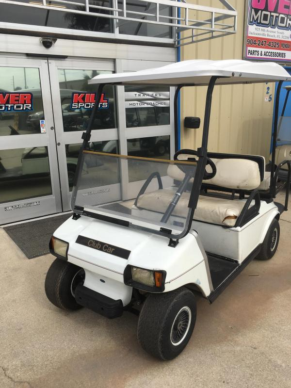 2008 Club Car DS Electric Golf Cart 4 Passenger White