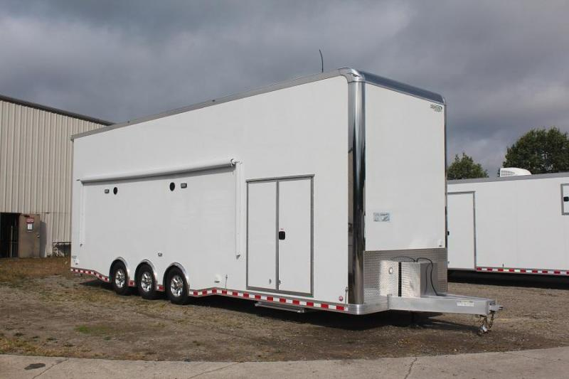 2018 Bravo ICON 32' Stacker Race Trailer