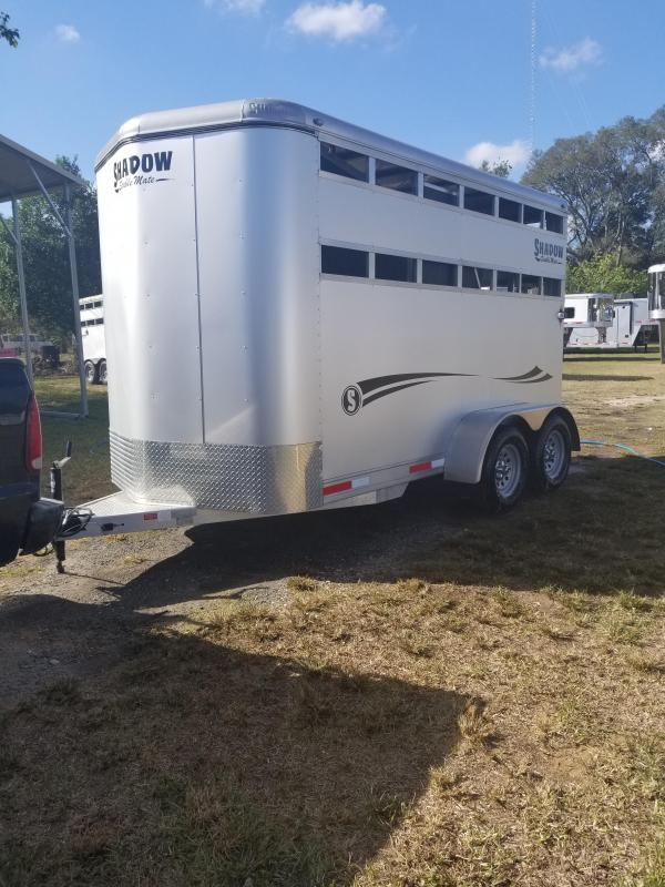 2016 Shadow 2H Stable Mate Horse Trailer