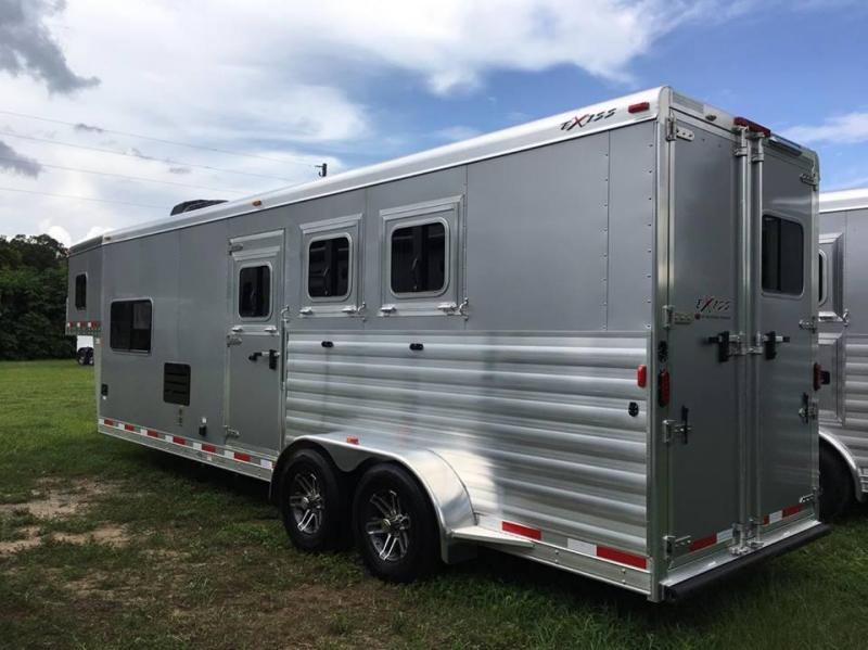 2017 Exiss Escape 6310 LQ Horse Trailer