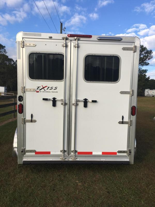 2018 Exiss EXPRESS 3H BP SS EDITION Horse Trailer