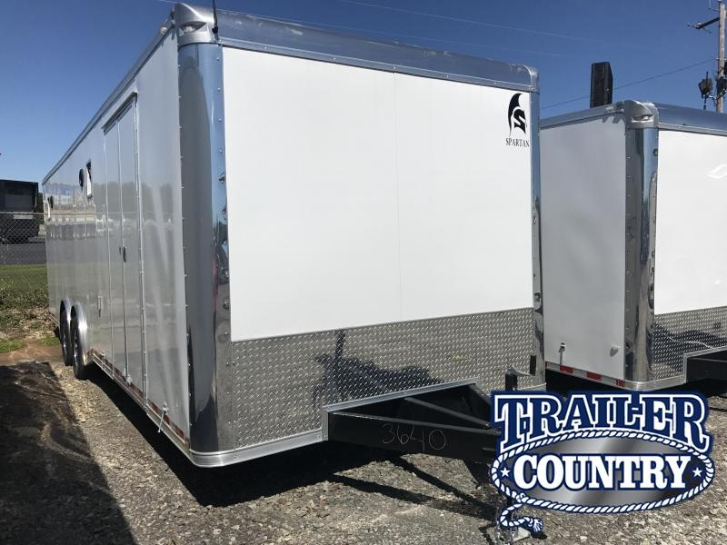 8.5x28 Spartan Enclosed Car / Race Trailer