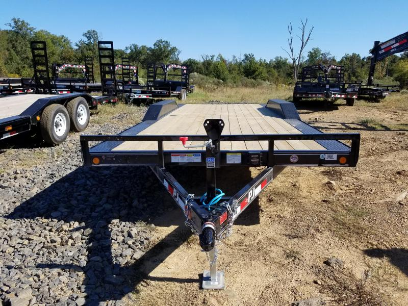 102x20 Buggy Hauler-3500lb axles Dovetail Slide in Ramps