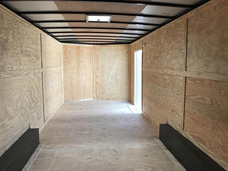 8.5x24 Enclosed Cargo Carhauler Trailer-CLEARANCE