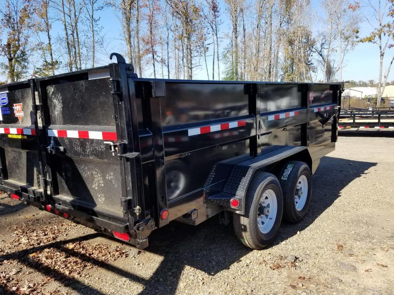 83x16 PJ XL High Side Dump-7K 7x20 Tarp 3' Sides
