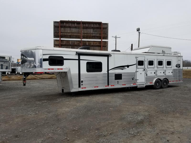 ***BLOWOUT PRICING***2016 BISON 8413SVB 4 HORSE SILVERADO WITH 13' SHORT WALL