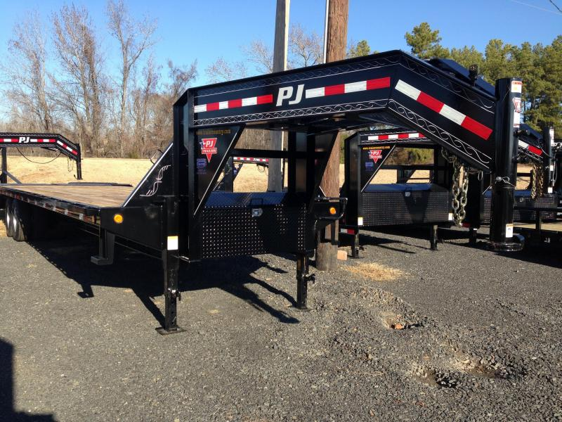 102x32 PJ Gooseneck Flatbed Trailer-10K Axles-CLEARANCE