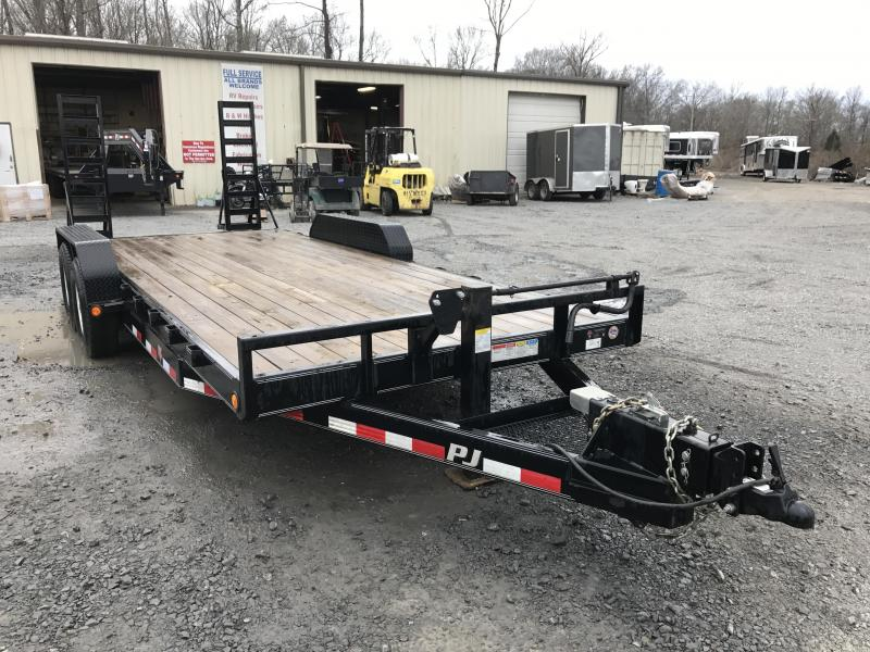 USED PJ Equipment Trailer-7000 lb Axles