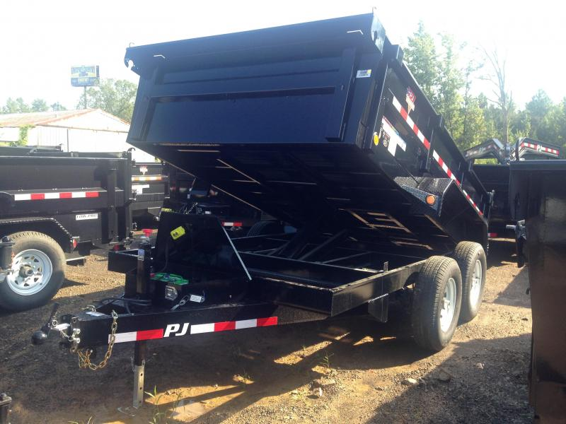 83x12 PJ Dump Trailer-Scissor Lift-CLEARANCE