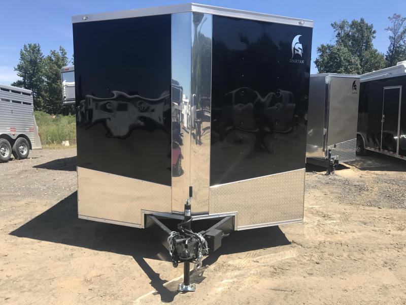 8.5x16 Enclosed Cargo Trailer-5200lb Axles-Ramp