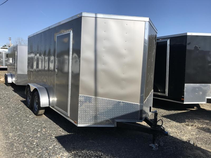 7x14 Enclosed Cargo Trailer-6'6