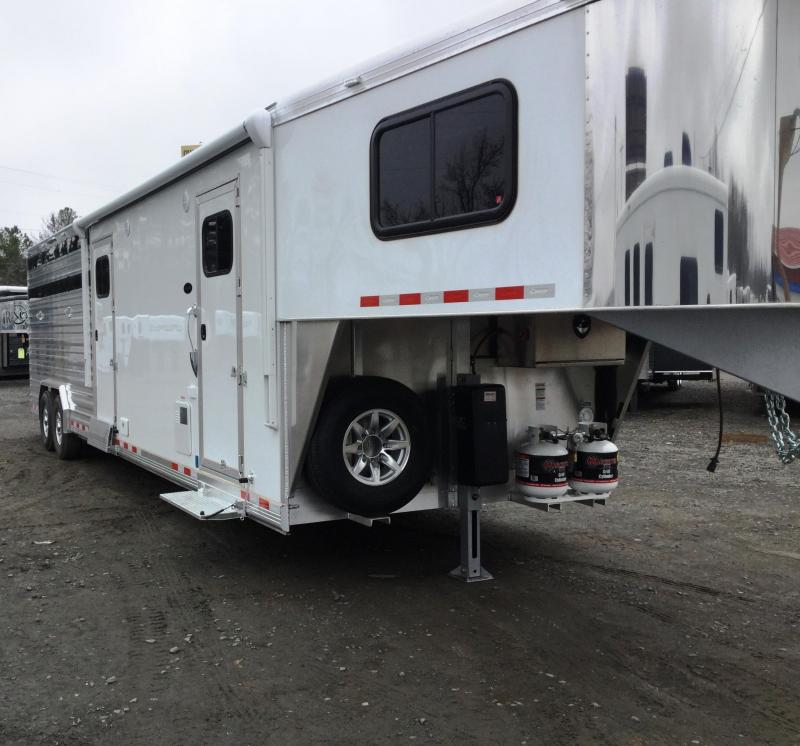 ***BEST SELLING TRAILER AT NFR 2017 Cimarron Trailers LONESTAR 30X8 STOCK COMBO/MID TACK WITH SIERRA LI Horse Trailer
