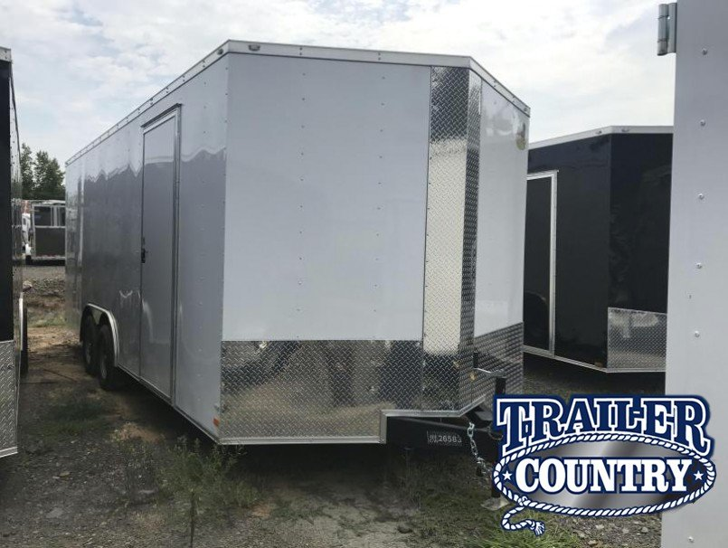 8.5X20 Enclosed Cargo Trailer-Ramp-CLEARANCE