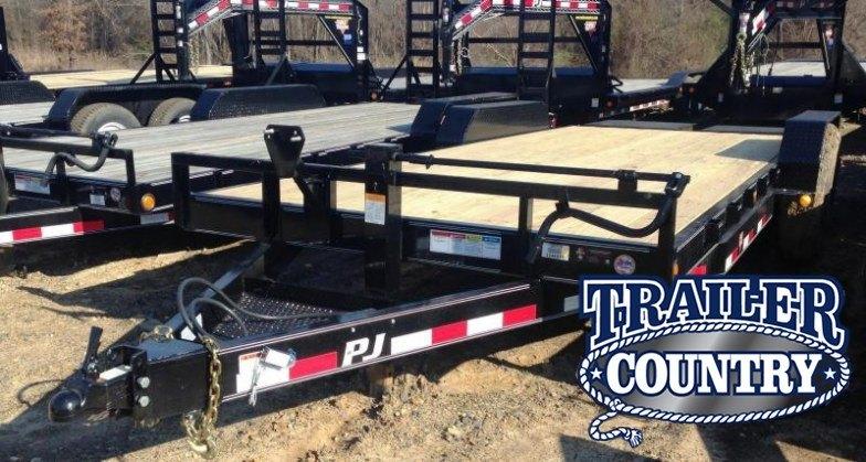 83x20 PJ Equipment Trailer-Monster Ramps