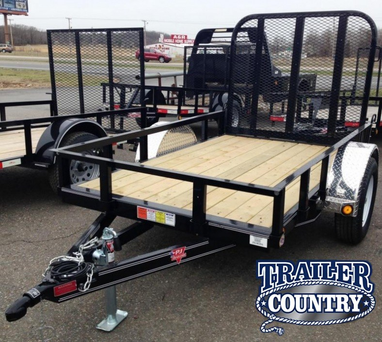 5x8 PJ Utility Trailer-Rear Gate-CLEARANCE