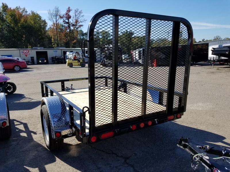 5x8 PJ Utility Trailer-Rear Gate
