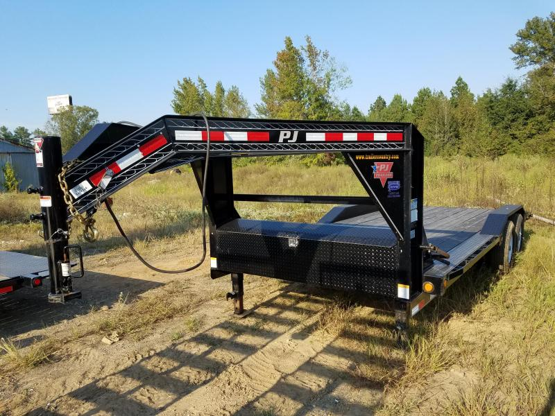102x20 PJ Superwide Equipment Trailer-Slide In Ramps-Douglas Fir-CLEARANCE
