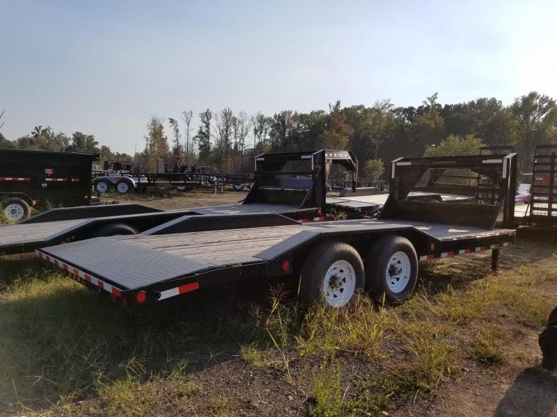 102x20 PJ Superwide Equipment Trailer-Slide In Ramps-Douglas Fir-CLEARANCE