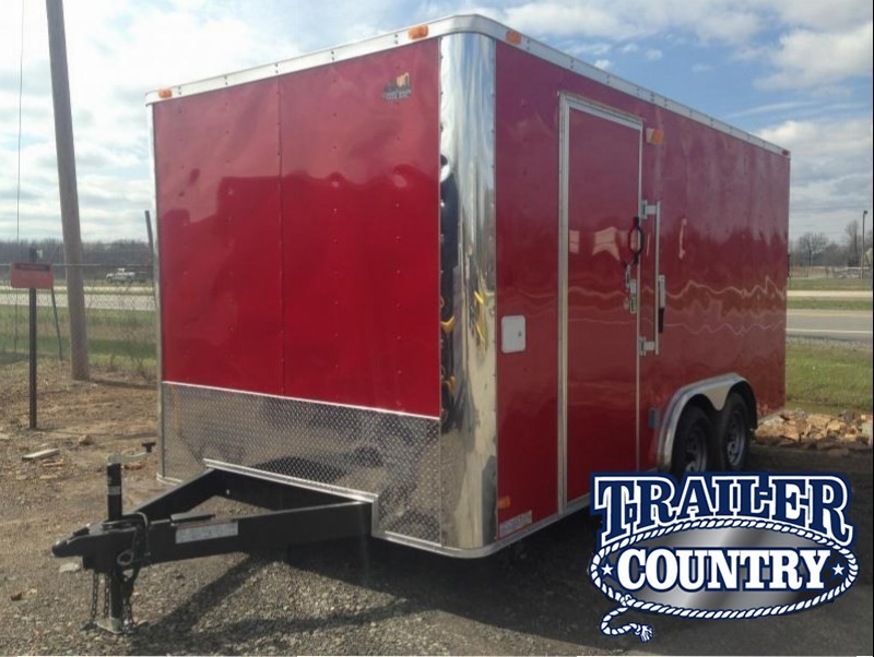 8x16 Enclosed Food Vending / Concession Trailer-CLEARANCE