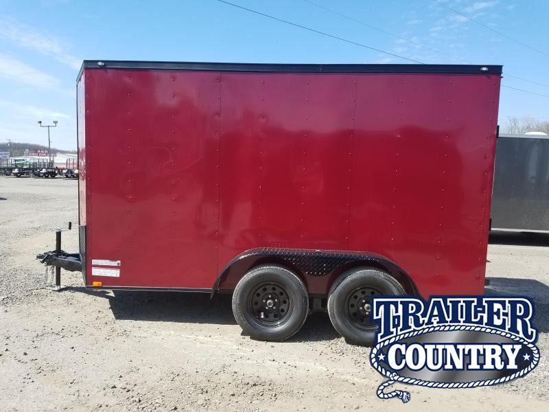 2018 Spartan 6x12 TA Cargo Enclosed Cargo Trailer