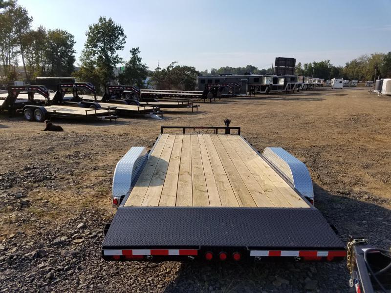 83x18 PJ Carhauler Trailer-3500lb Brake Axles-CLEARANCE