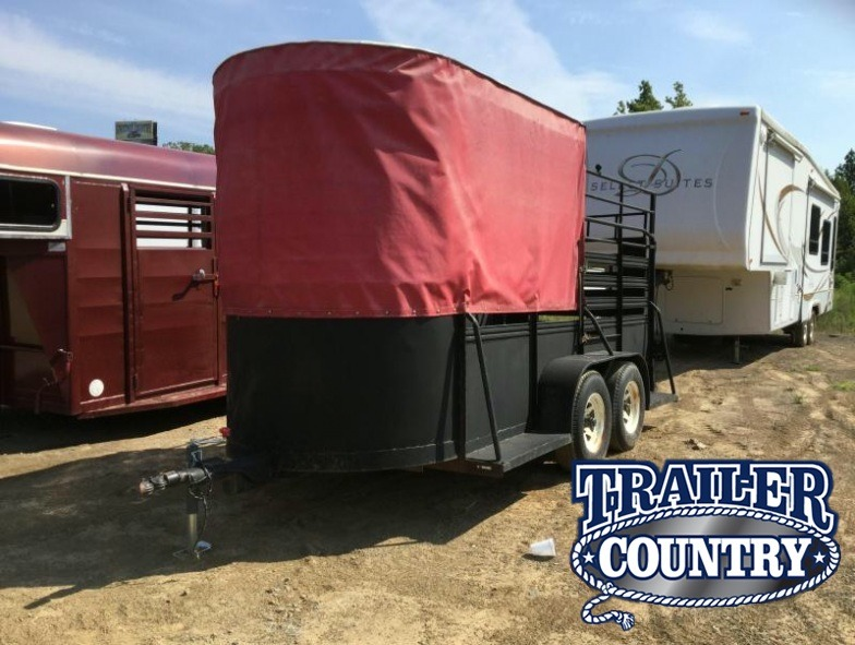 USED 12' Stock Trailer***JUST REDUCED***