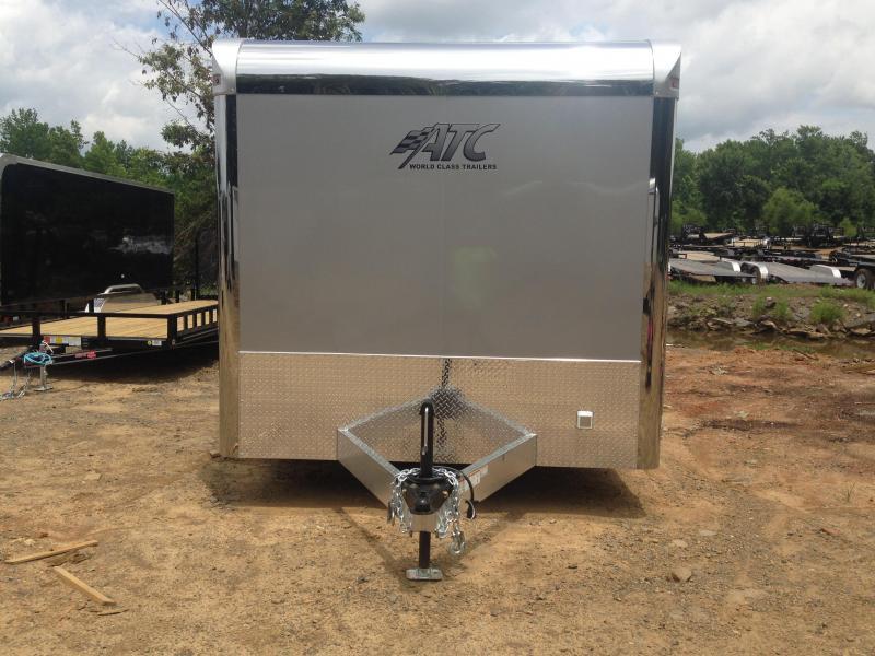 8.5x28 Aluminum ATC Enclosed Carhauler Trailer-CLEARANCE
