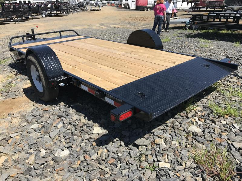 16' PJ Single Axle HD Equipment Tilt Trailer