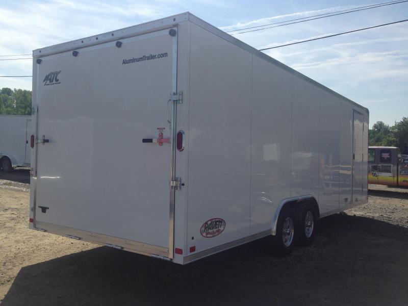 8.5x24 ATC All Aluminum Enclosed Race Car Trailer-CLEARANCE ...