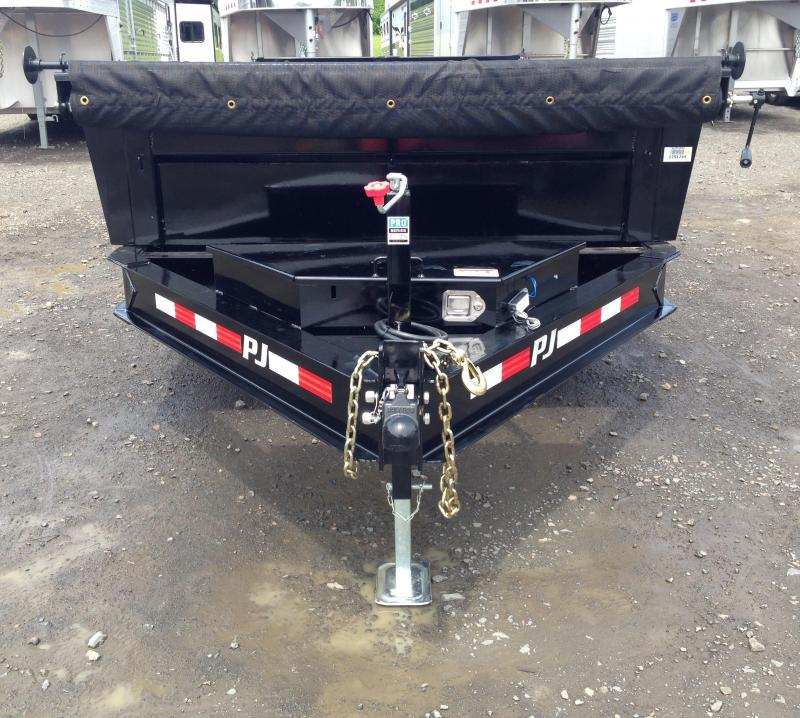 83x14 PJ Lo Pro Dump Trailer-Tarp Included