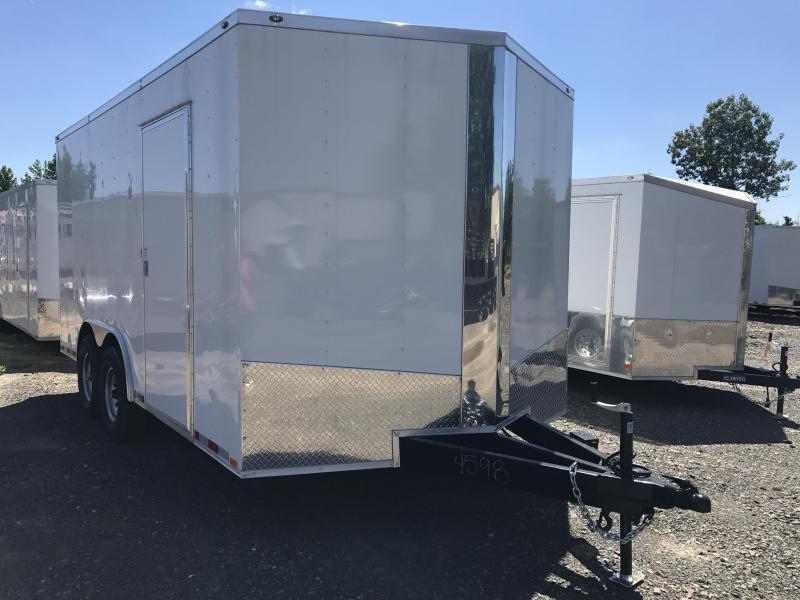 8.5x16 Heavy Duty Enclosed Cargo Trailer-7K Axles