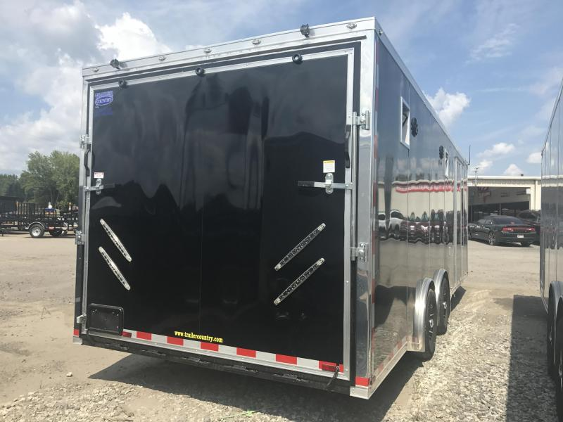 8.5x24 Spartan Enclosed Race Trailer-CLEARANCE
