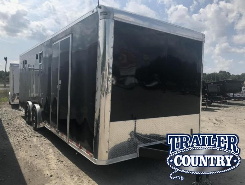 2017 Spartan enclosed race trailer