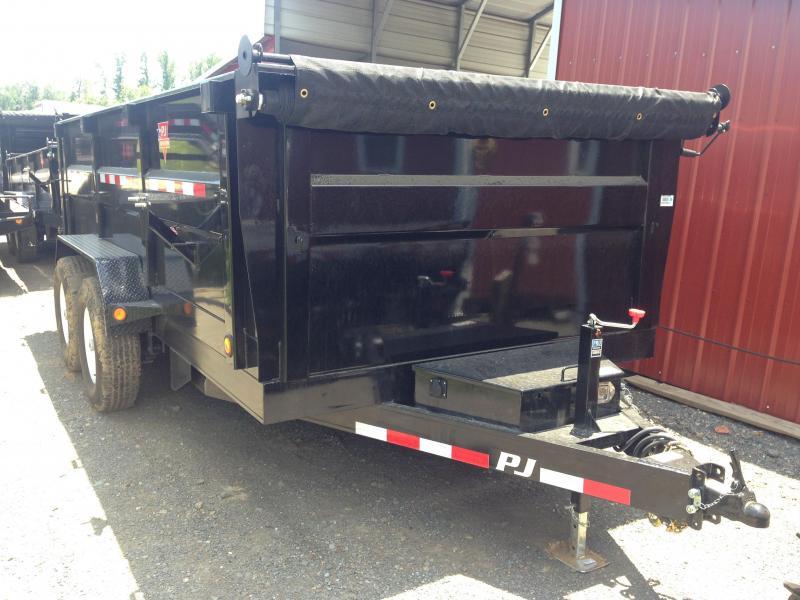 83x14 PJ High Side Dump-3' Sides-Tarp Included