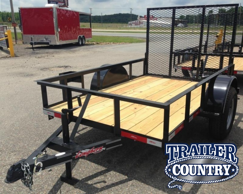 5x8 Utility Trailer with Rear Gate-CLEARANCE