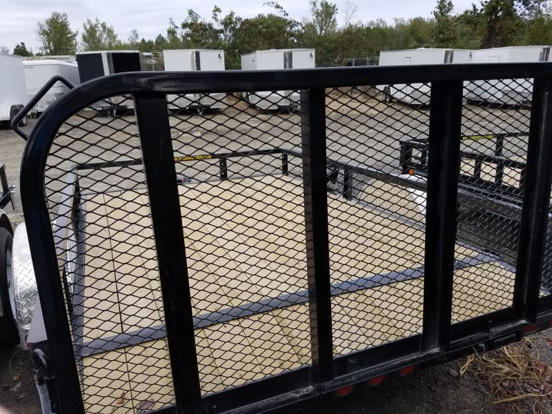 77x10 PJ Utility Trailer-2' Dovetail-3' Rear Gate