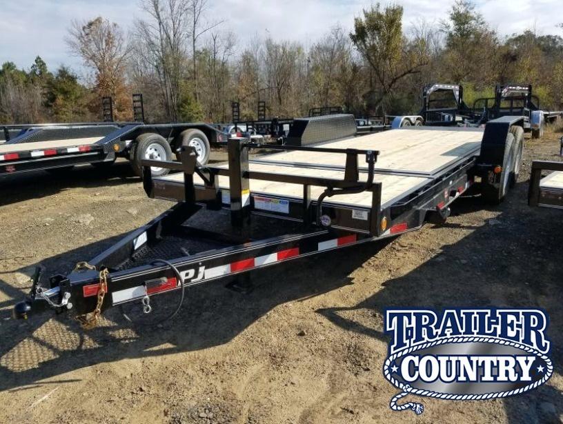 83x20 PJ Carhauler Tilt-7K Axles-16' Tilt Deck